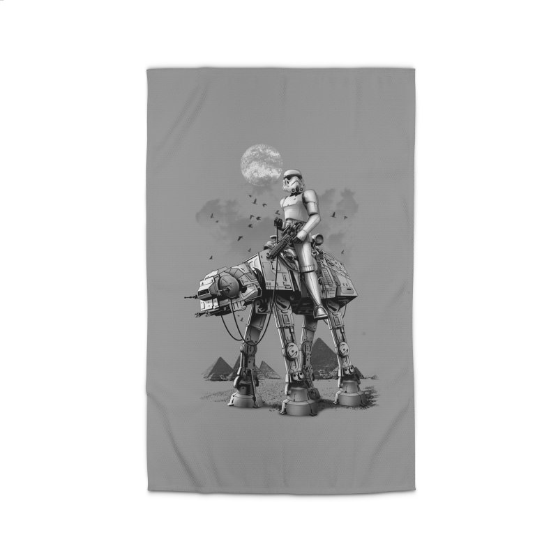 STORMTROOPER RIDING ATAT Home Rug by gallerianarniaz's Artist Shop