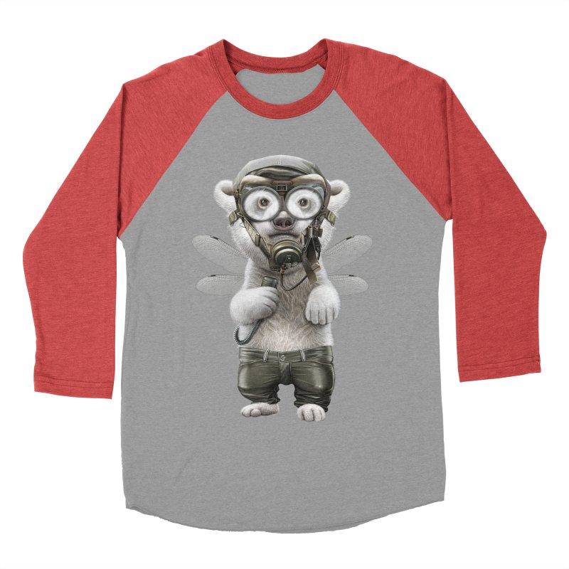 PILOT POLAR Men's Baseball Triblend T-Shirt by gallerianarniaz's Artist Shop