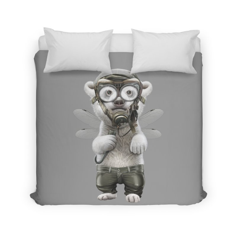 PILOT POLAR Home Duvet by gallerianarniaz's Artist Shop