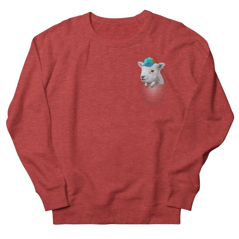 POCKET LAMB WITH CAP Men's Sweatshirt by gallerianarniaz's Artist Shop