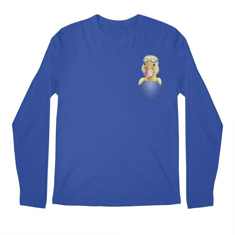 POCKET DUCK Men's Longsleeve T-Shirt by gallerianarniaz's Artist Shop
