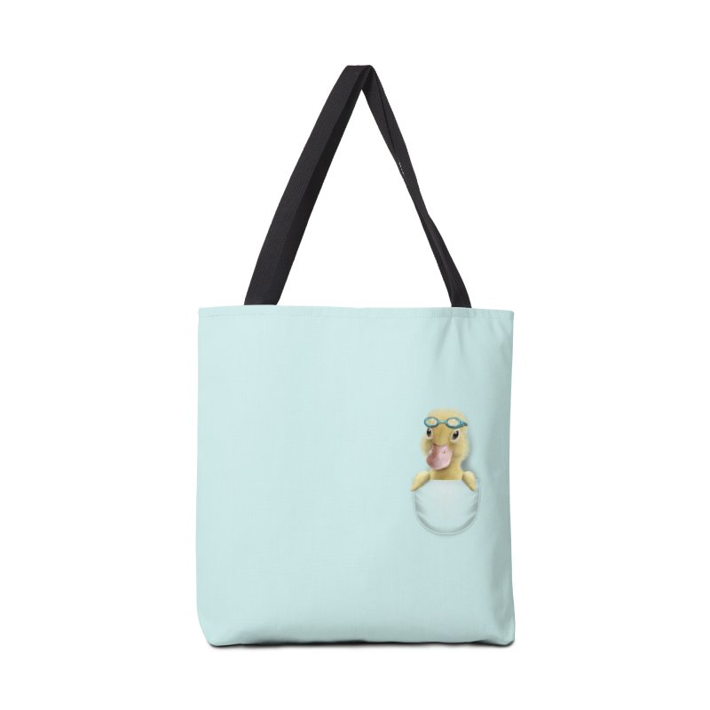POCKET DUCK Accessories Bag by gallerianarniaz's Artist Shop