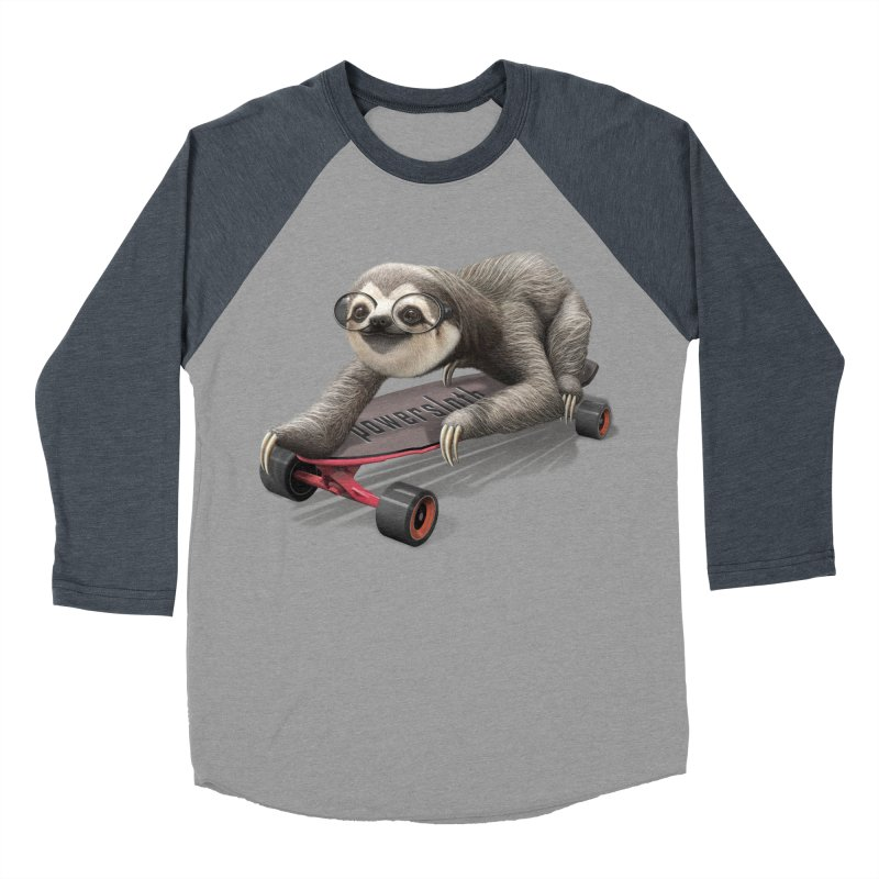 SLOTH ON SKATEBOARD   by gallerianarniaz's Artist Shop