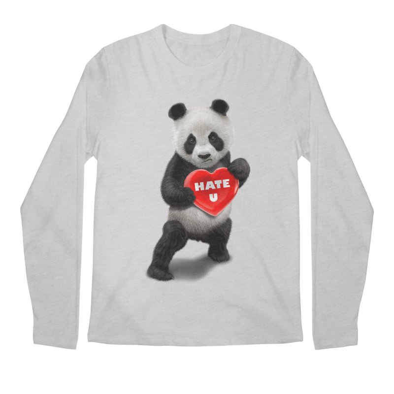 I LOVE U, I HATE YOU Men's Longsleeve T-Shirt by gallerianarniaz's Artist Shop