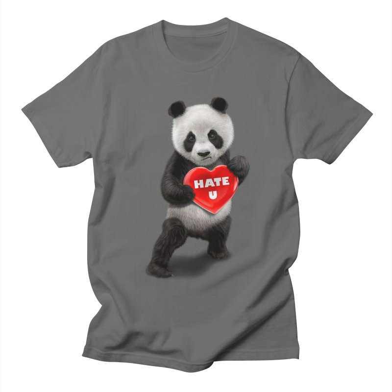 I LOVE U, I HATE YOU Men's T-shirt by gallerianarniaz's Artist Shop