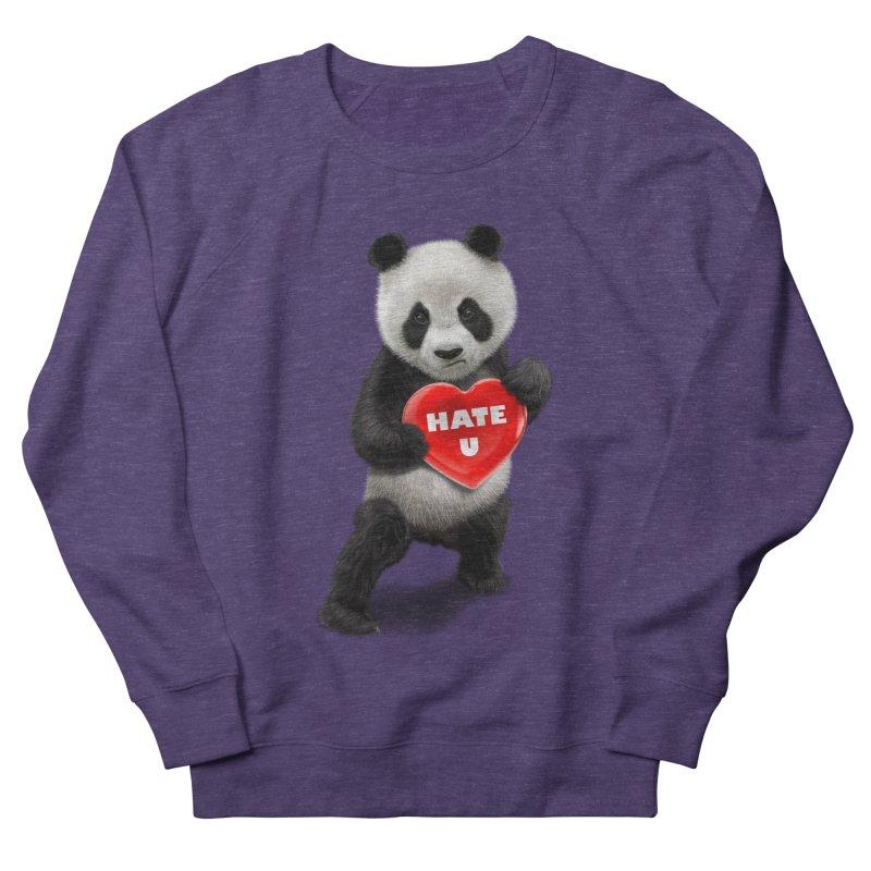 I LOVE U, I HATE YOU Men's Sweatshirt by gallerianarniaz's Artist Shop