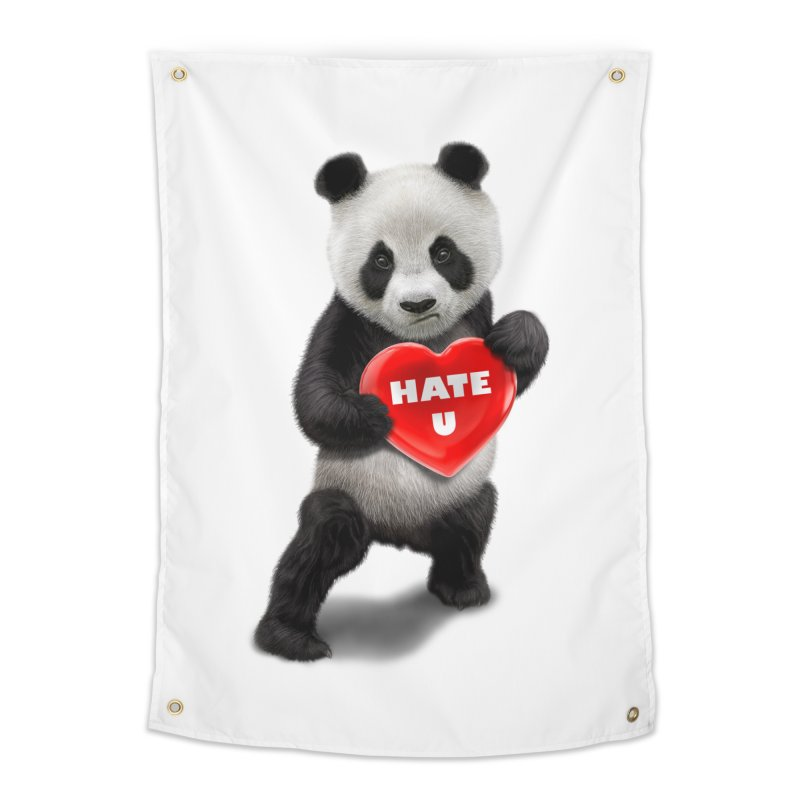 I LOVE U, I HATE YOU Home Tapestry by gallerianarniaz's Artist Shop