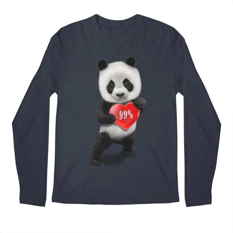 99% Men's Longsleeve T-Shirt by gallerianarniaz's Artist Shop
