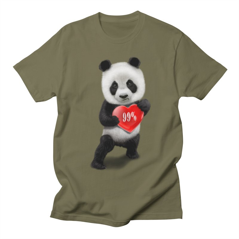 99% Men's T-shirt by gallerianarniaz's Artist Shop