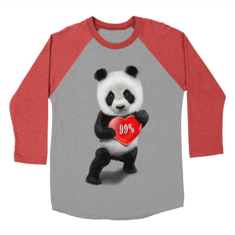 99% Men's Baseball Triblend T-Shirt by gallerianarniaz's Artist Shop
