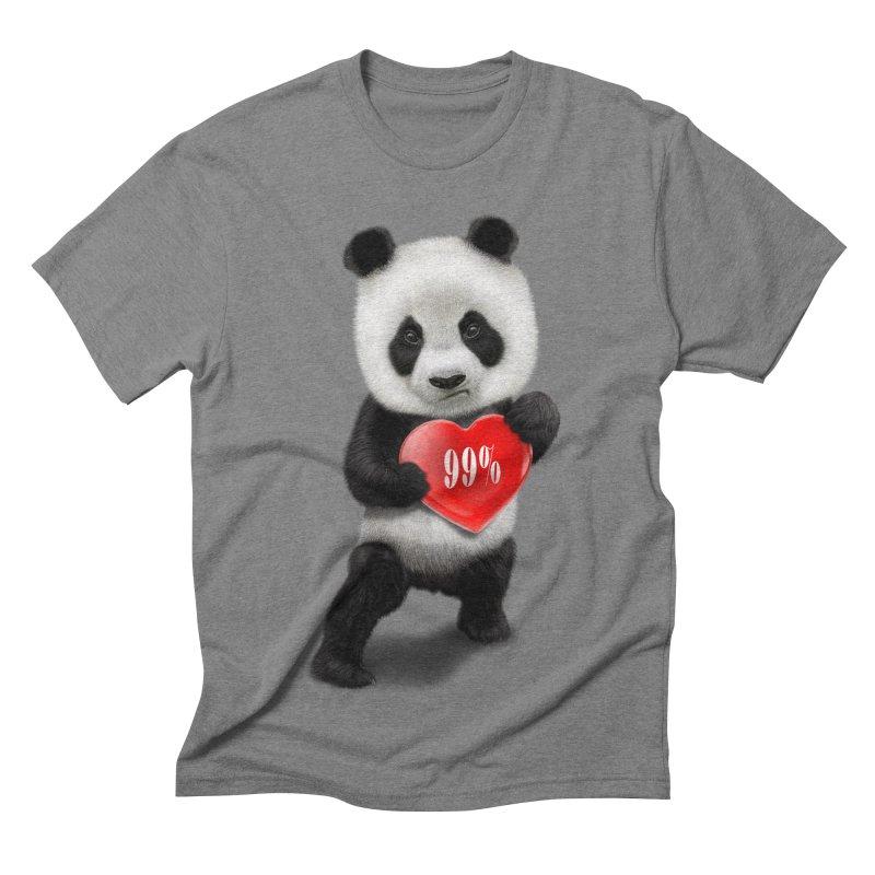 99% Men's Triblend T-shirt by gallerianarniaz's Artist Shop