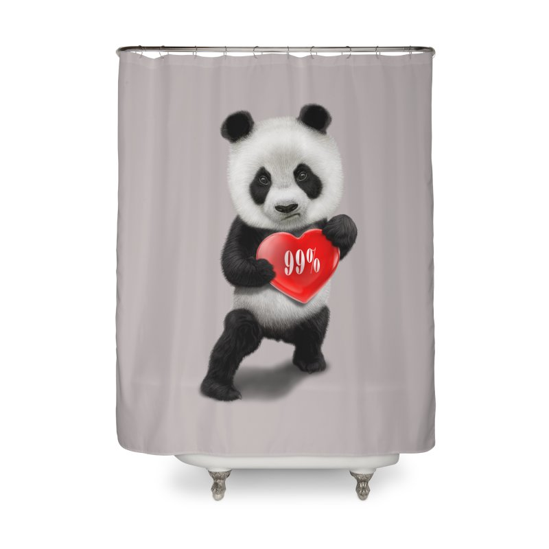 99% Home Shower Curtain by gallerianarniaz's Artist Shop