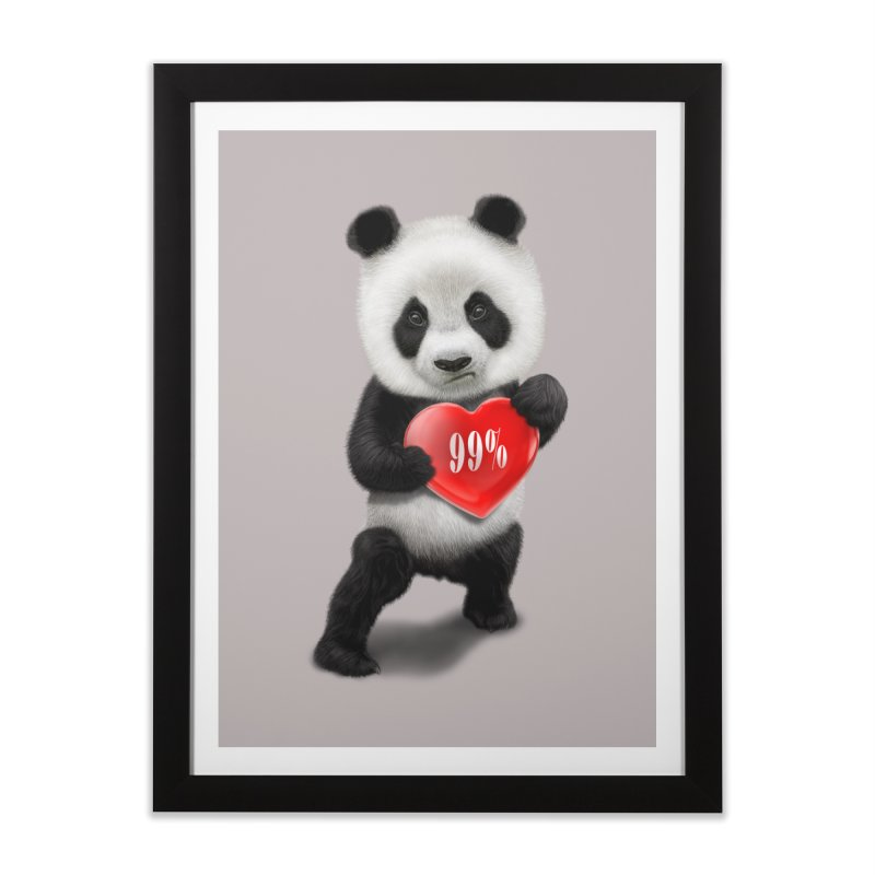 99% Home Framed Fine Art Print by gallerianarniaz's Artist Shop