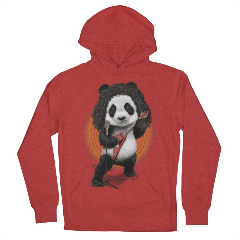 PANDA ROCKER 2017 Men's Pullover Hoody by gallerianarniaz's Artist Shop
