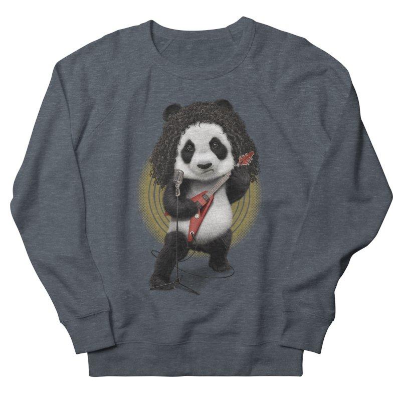 PANDA ROCKER 2017 Men's Sweatshirt by gallerianarniaz's Artist Shop