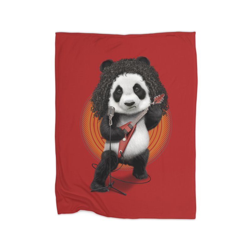 PANDA ROCKER 2017 Home Blanket by gallerianarniaz's Artist Shop