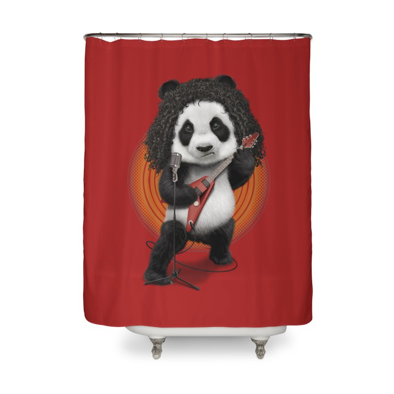 PANDA ROCKER 2017 Home Shower Curtain by gallerianarniaz's Artist Shop