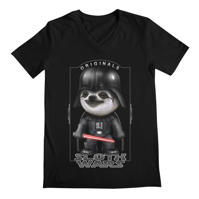 DARTH SLOTH 2017 Men's V-Neck by gallerianarniaz's Artist Shop