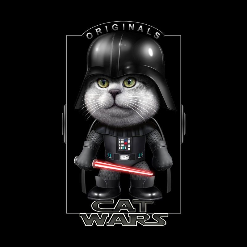 CAT VADER ORIGINALS None  by gallerianarniaz's Artist Shop