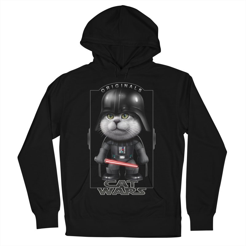 CAT VADER ORIGINALS Men's Pullover Hoody by gallerianarniaz's Artist Shop