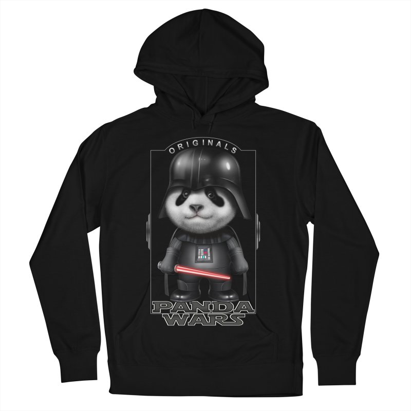 DARTH PANDA - ORIGINALS Men's Pullover Hoody by gallerianarniaz's Artist Shop