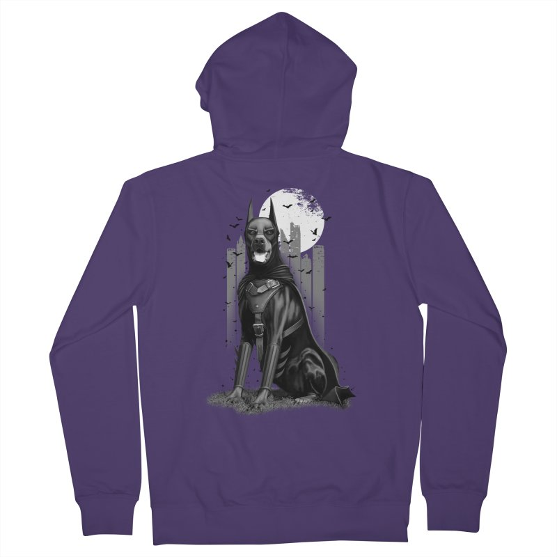 DOBERMAN Women's Zip-Up Hoody by gallerianarniaz's Artist Shop