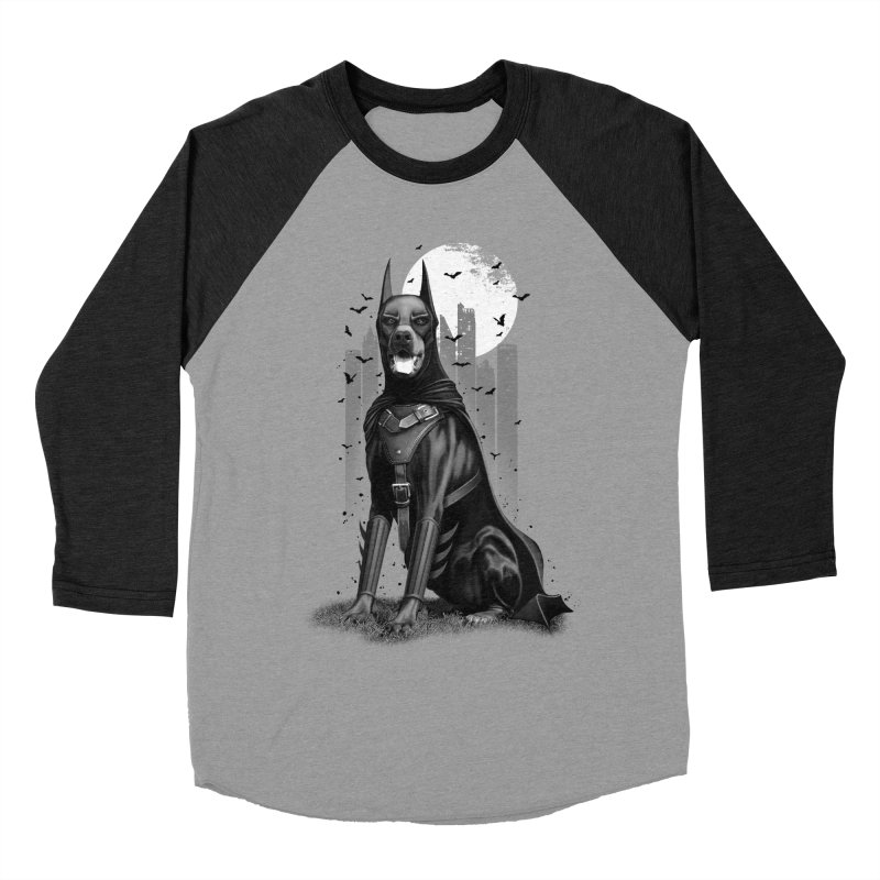 DOBERMAN Women's Baseball Triblend T-Shirt by gallerianarniaz's Artist Shop