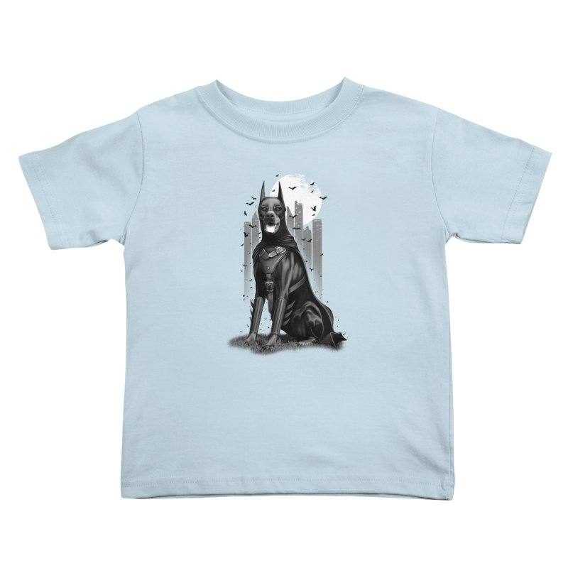 DOBERMAN Kids Toddler T-Shirt by gallerianarniaz's Artist Shop