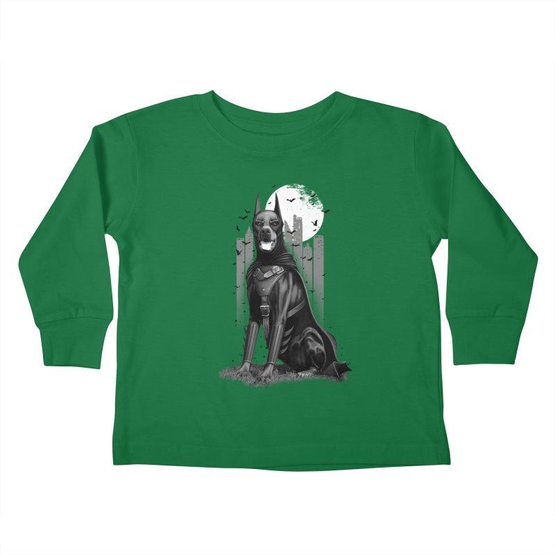 DOBERMAN Kids Toddler Longsleeve T-Shirt by gallerianarniaz's Artist Shop