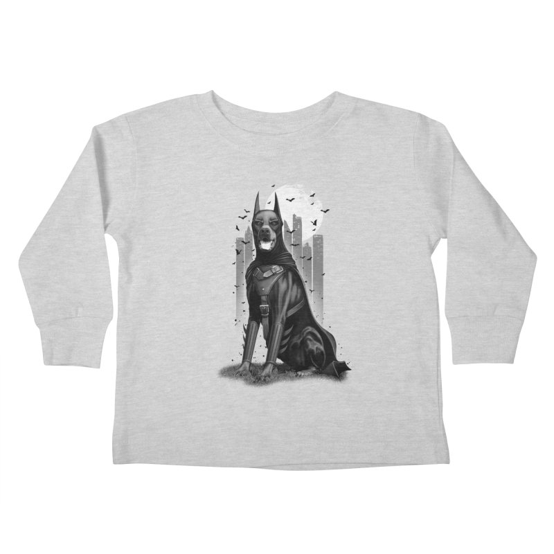 DOBERMAN Kids Toddler Longsleeve T-Shirt by gallerianarniaz's Artist Shop