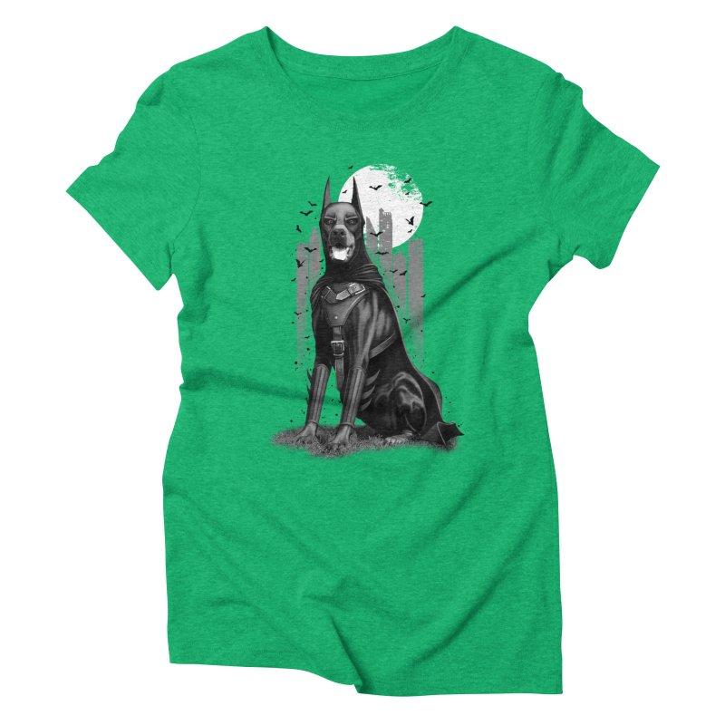 DOBERMAN Women's Triblend T-shirt by gallerianarniaz's Artist Shop