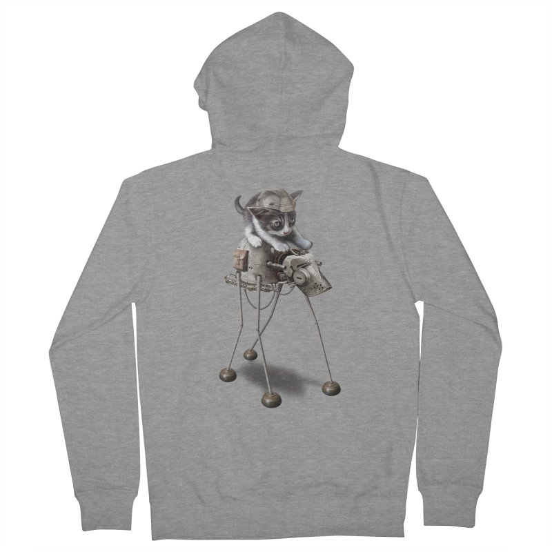 PROTECTOR 2015 Women's Zip-Up Hoody by gallerianarniaz's Artist Shop