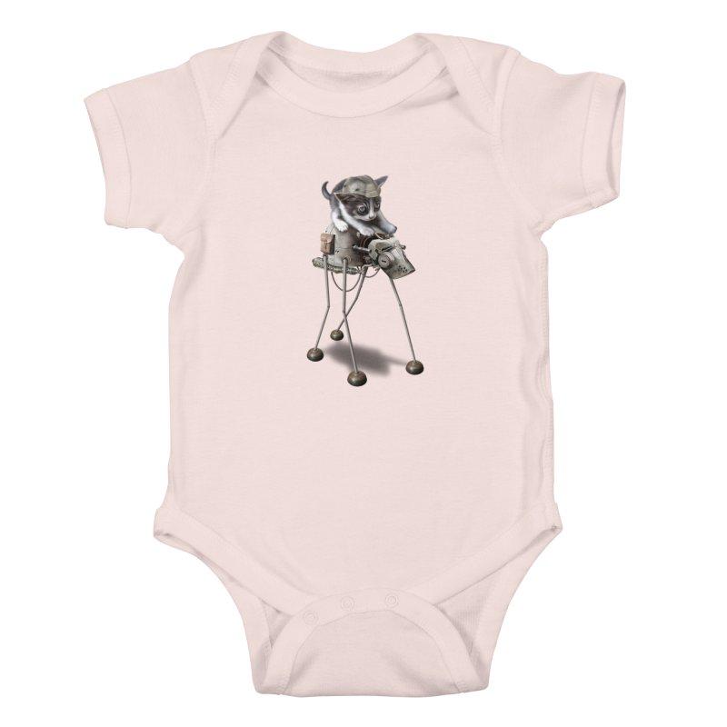 PROTECTOR 2015 Kids Baby Bodysuit by gallerianarniaz's Artist Shop