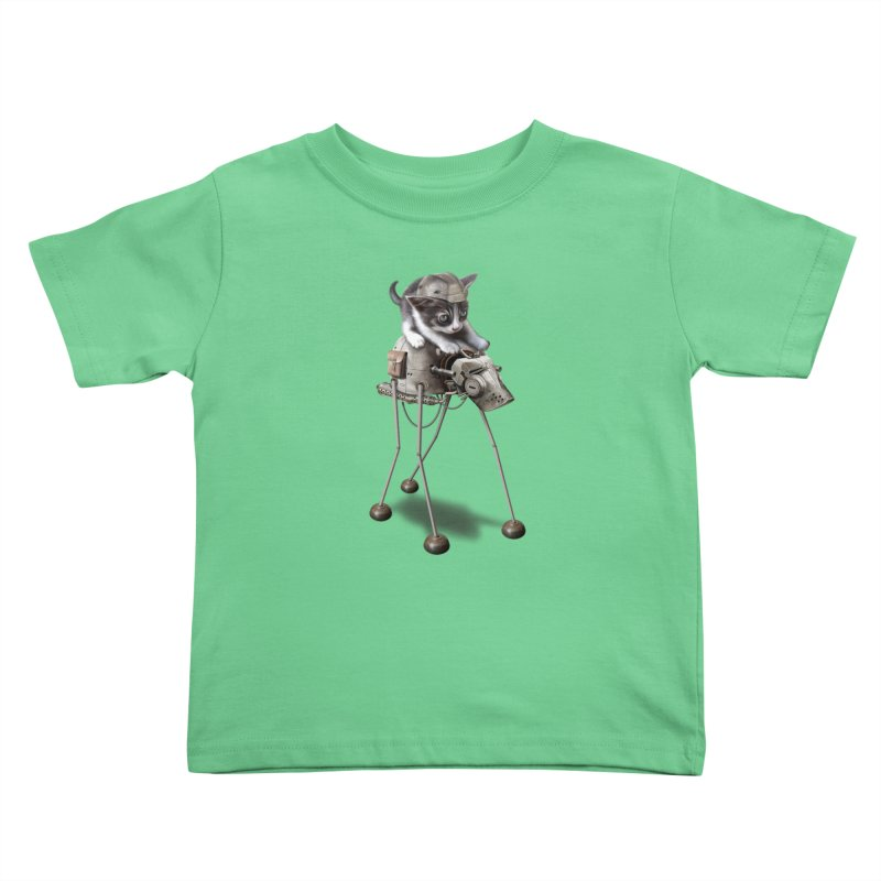 PROTECTOR 2015 Kids Toddler T-Shirt by gallerianarniaz's Artist Shop