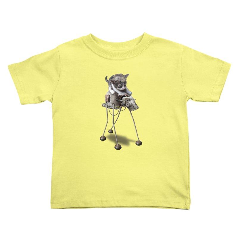 PROTECTOR 2015 Kids Toddler T-Shirt by gallerianarniaz's Artist Shop
