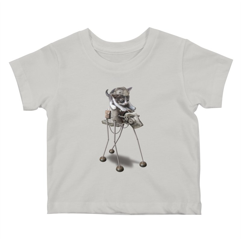 PROTECTOR 2015 Kids Baby T-Shirt by gallerianarniaz's Artist Shop