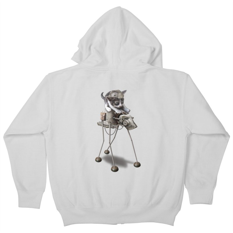 PROTECTOR 2015 Kids Zip-Up Hoody by gallerianarniaz's Artist Shop