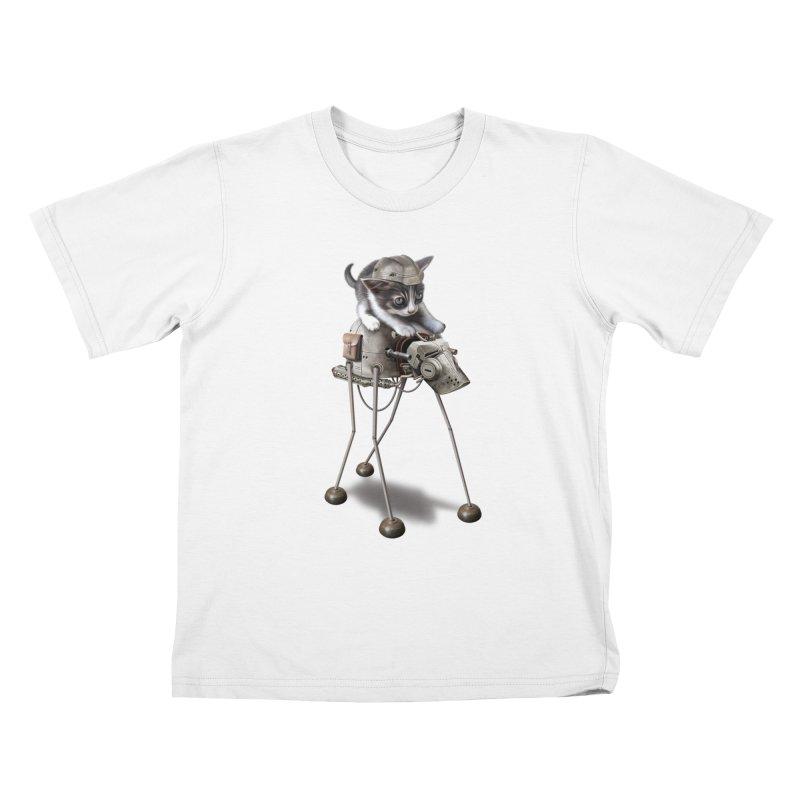 PROTECTOR 2015 Kids T-shirt by gallerianarniaz's Artist Shop