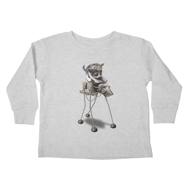 PROTECTOR 2015 Kids Toddler Longsleeve T-Shirt by gallerianarniaz's Artist Shop