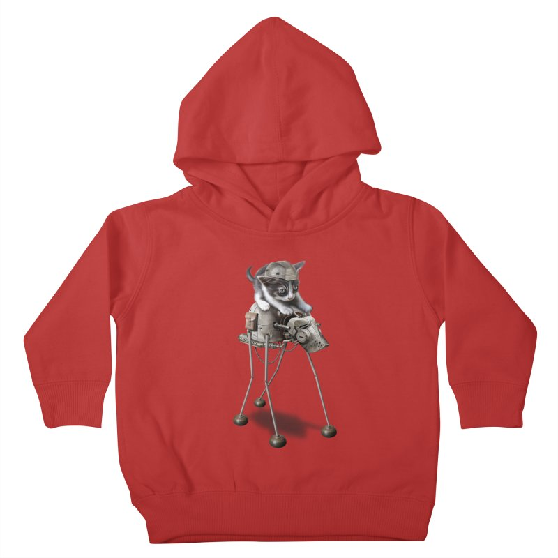 PROTECTOR 2015 Kids Toddler Pullover Hoody by gallerianarniaz's Artist Shop