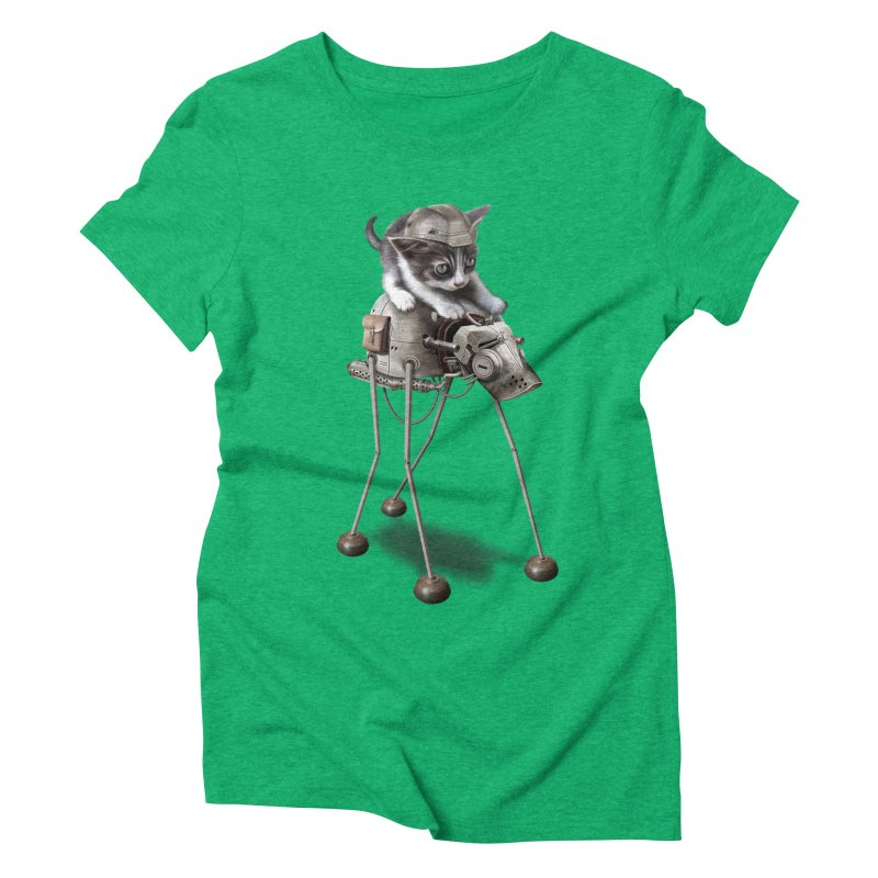 PROTECTOR 2015 Women's Triblend T-shirt by gallerianarniaz's Artist Shop