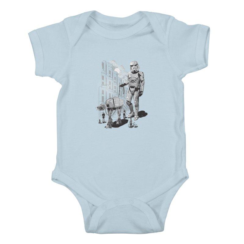 HOLIDAY Kids Baby Bodysuit by gallerianarniaz's Artist Shop