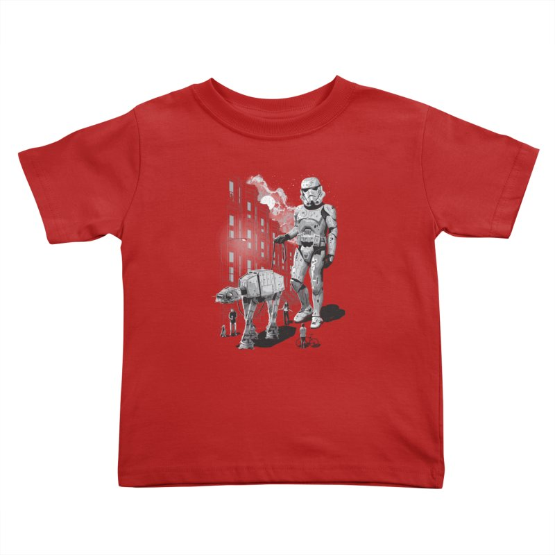 HOLIDAY Kids Toddler T-Shirt by gallerianarniaz's Artist Shop