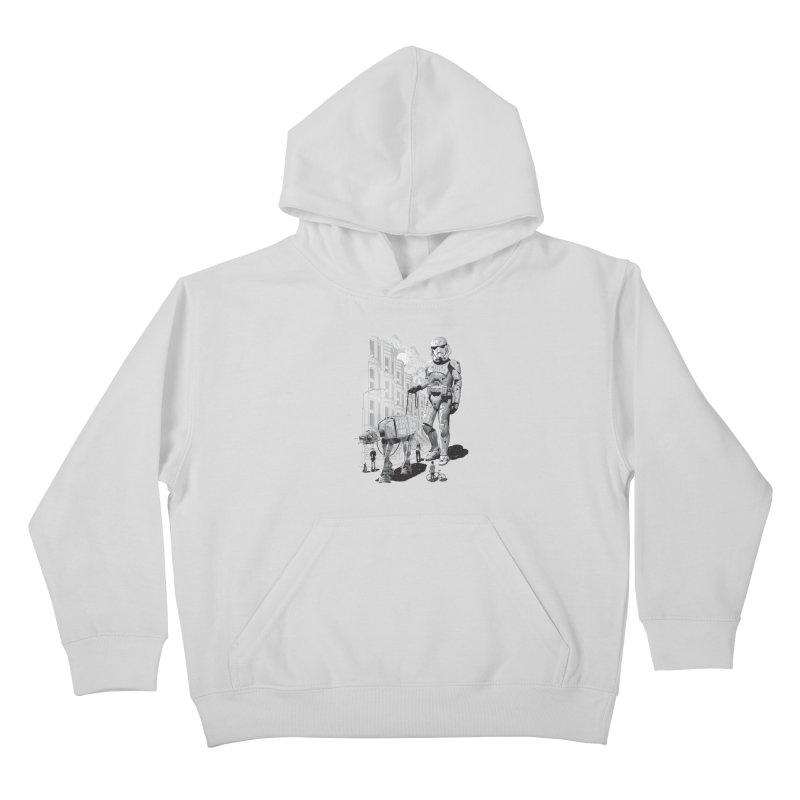 HOLIDAY Kids Pullover Hoody by gallerianarniaz's Artist Shop