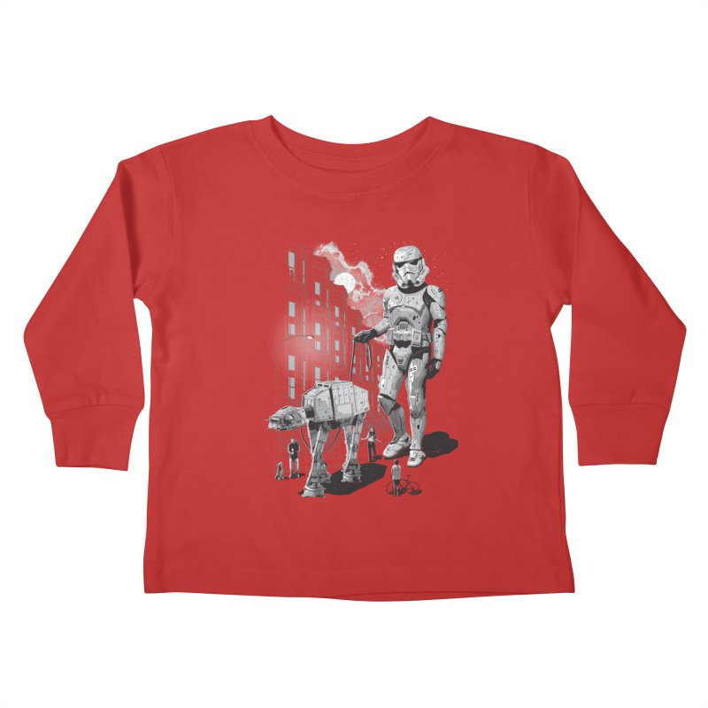 HOLIDAY Kids Toddler Longsleeve T-Shirt by gallerianarniaz's Artist Shop