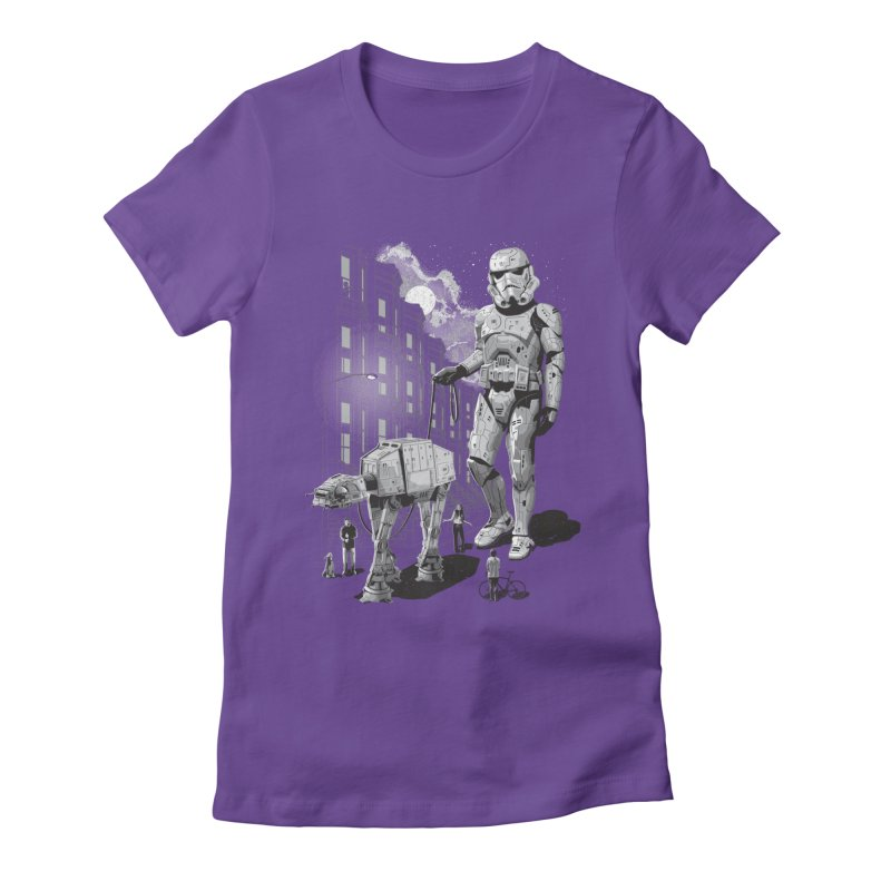 HOLIDAY Women's Fitted T-Shirt by gallerianarniaz's Artist Shop