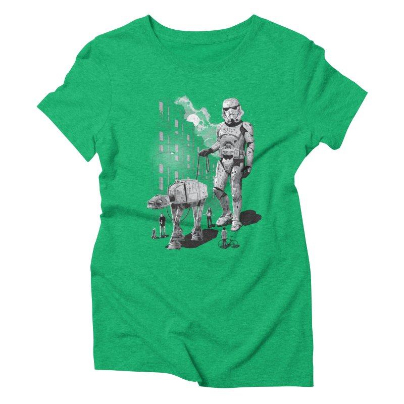 HOLIDAY Women's Triblend T-shirt by gallerianarniaz's Artist Shop