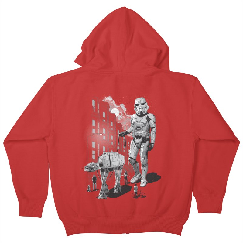 HOLIDAY Kids Zip-Up Hoody by gallerianarniaz's Artist Shop