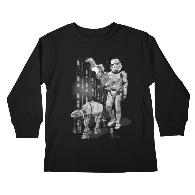 HOLIDAY Kids Longsleeve T-Shirt by gallerianarniaz's Artist Shop