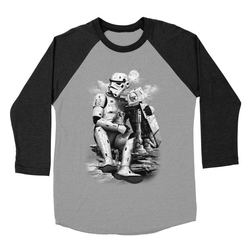 BY THE BEACH Women's Baseball Triblend T-Shirt by gallerianarniaz's Artist Shop